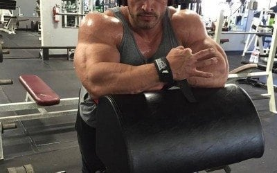 Arm training – 3 weeks out from Arnold Classic